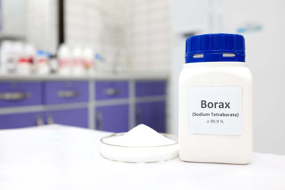 Cleaning with Borax and Vinegar